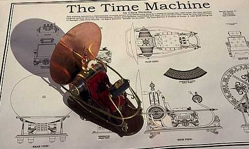 time machine blueprint